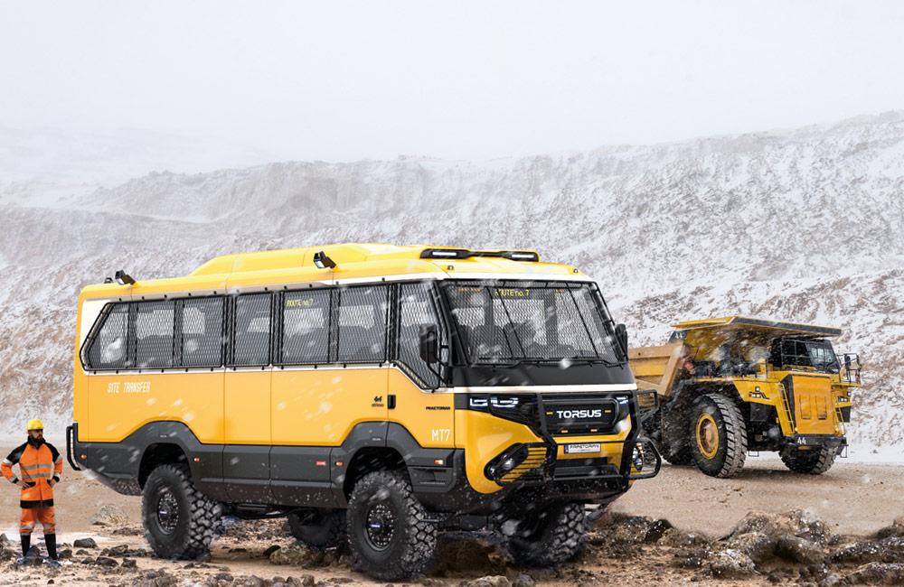 Torsus Mining Bus